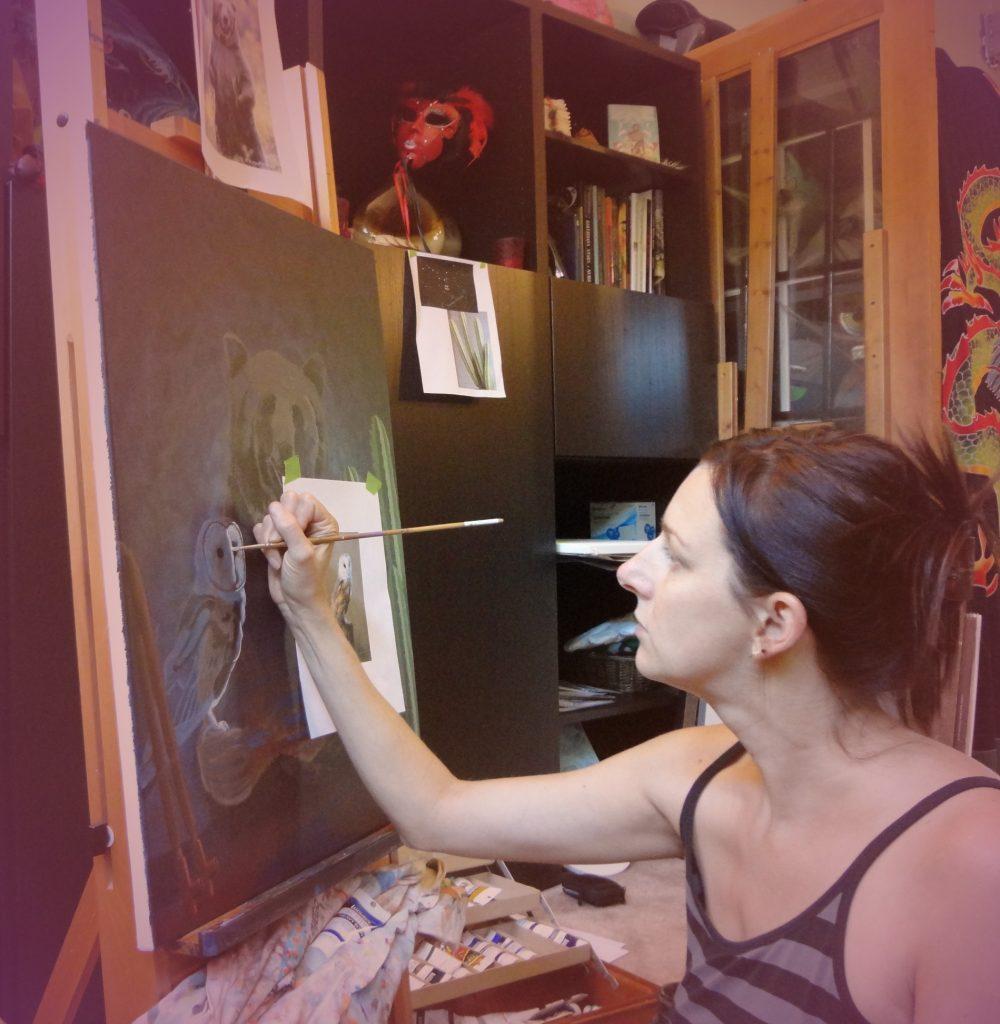 Studio PaintingWeb
