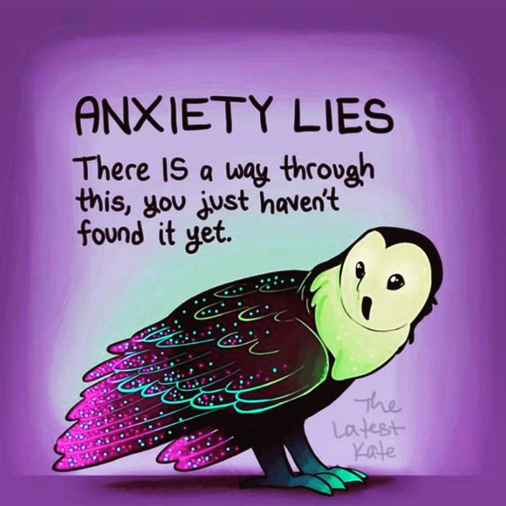 Anxiety Lies - The Latest Kate
